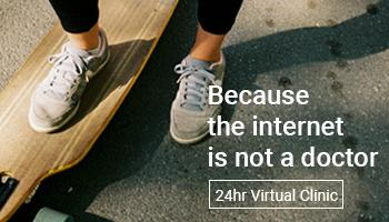 Because the internet is not a doctor. 24 hr Virtual Clinic.